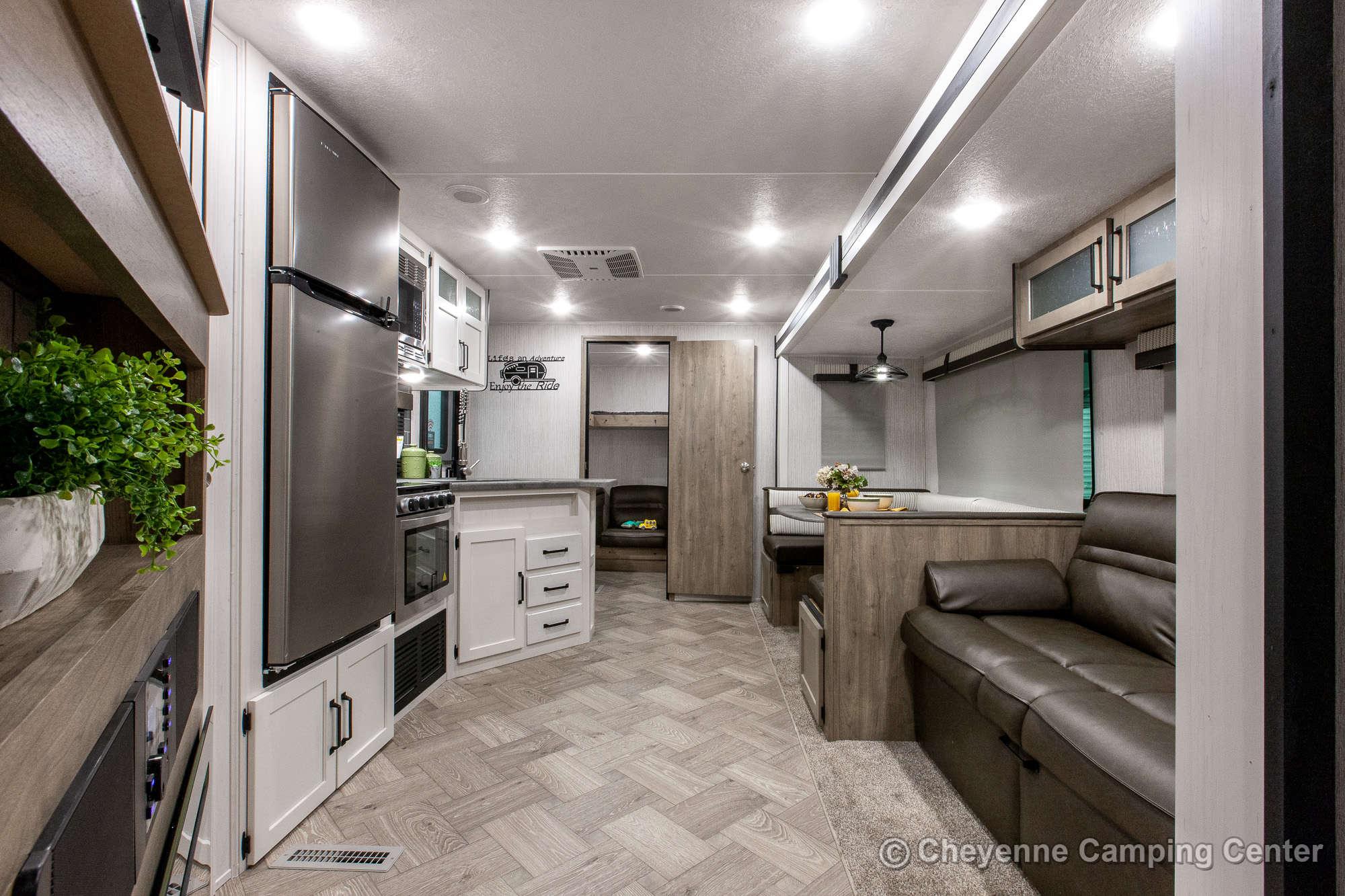 2021 Palomino Puma 28BHSS Bunkhouse Travel Trailer Interior Image