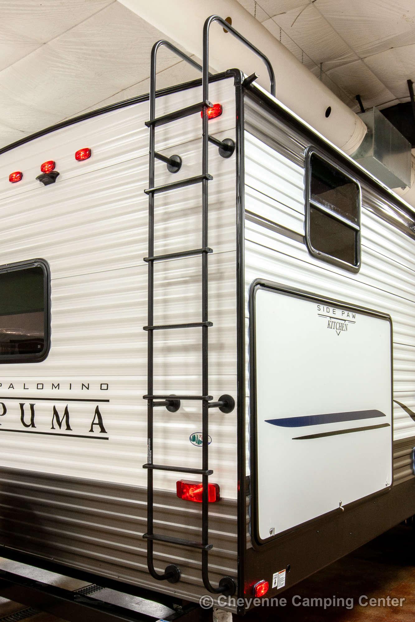 2021 Palomino Puma 31QBBH Bunkhouse Travel Trailer Exterior Image