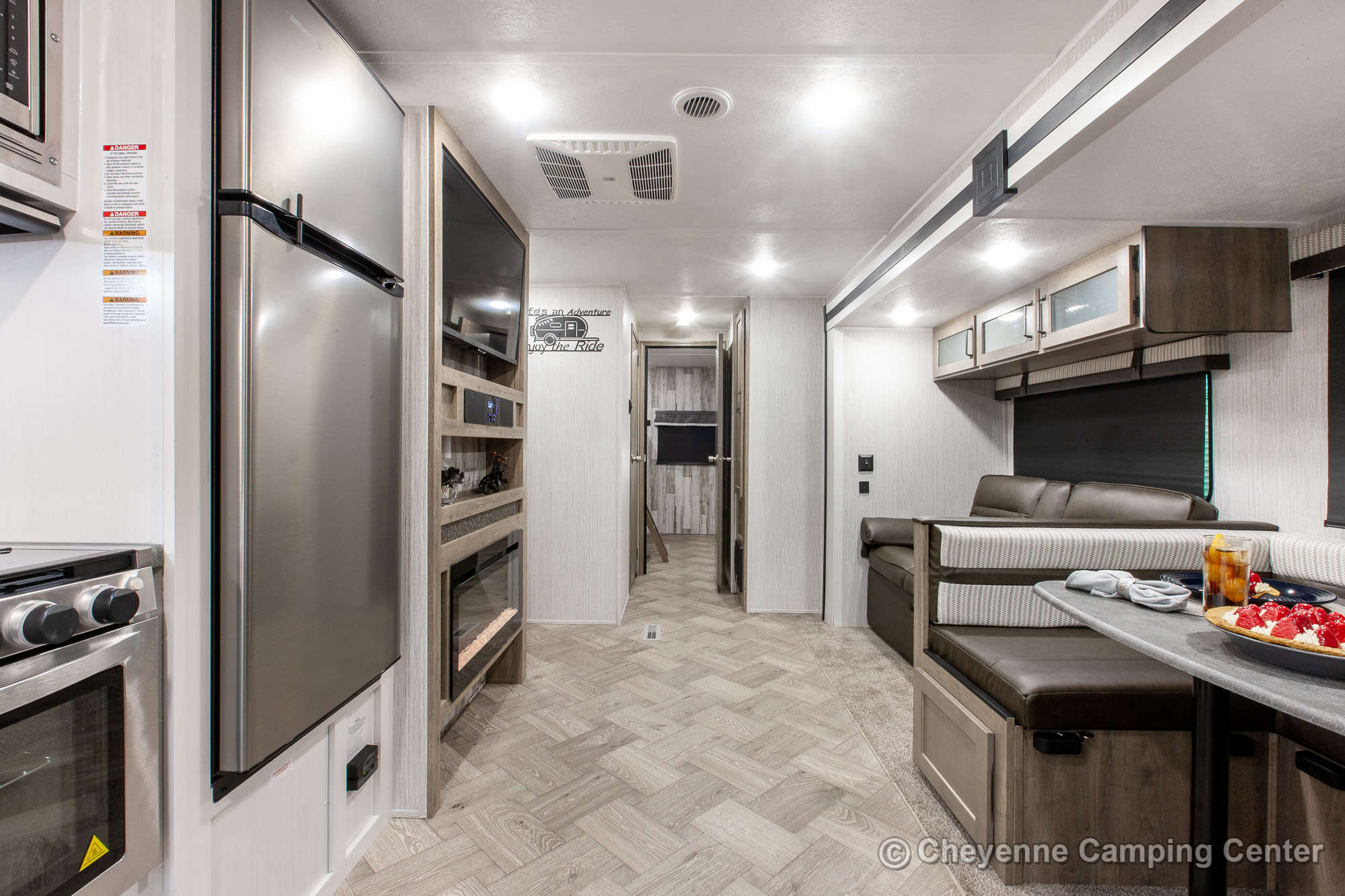 2021 Palomino Puma 31QBBH Bunkhouse Travel Trailer Interior Image