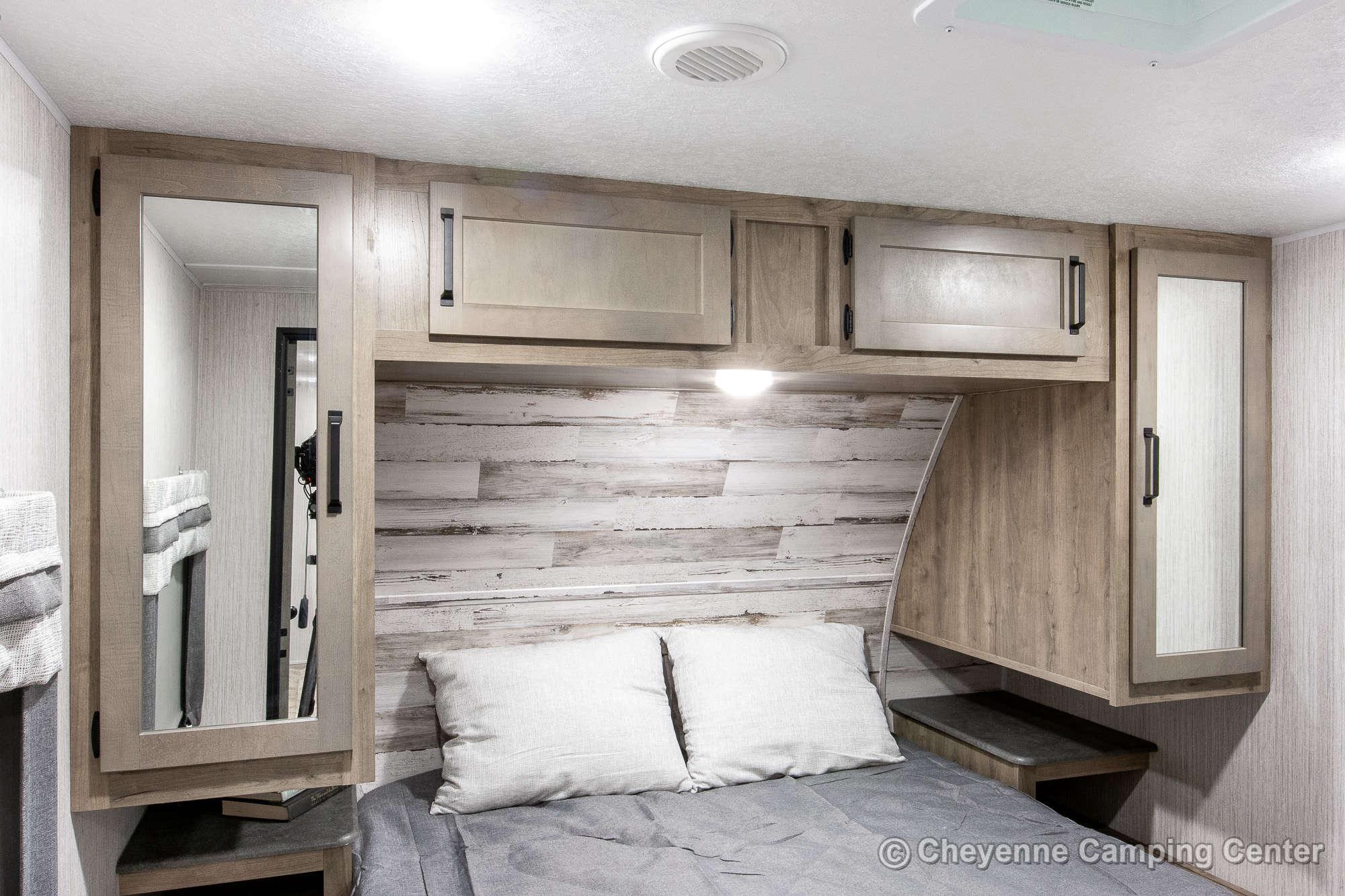 2021 Palomino Puma 31QBBH Bunkhouse Travel Trailer Interior Image