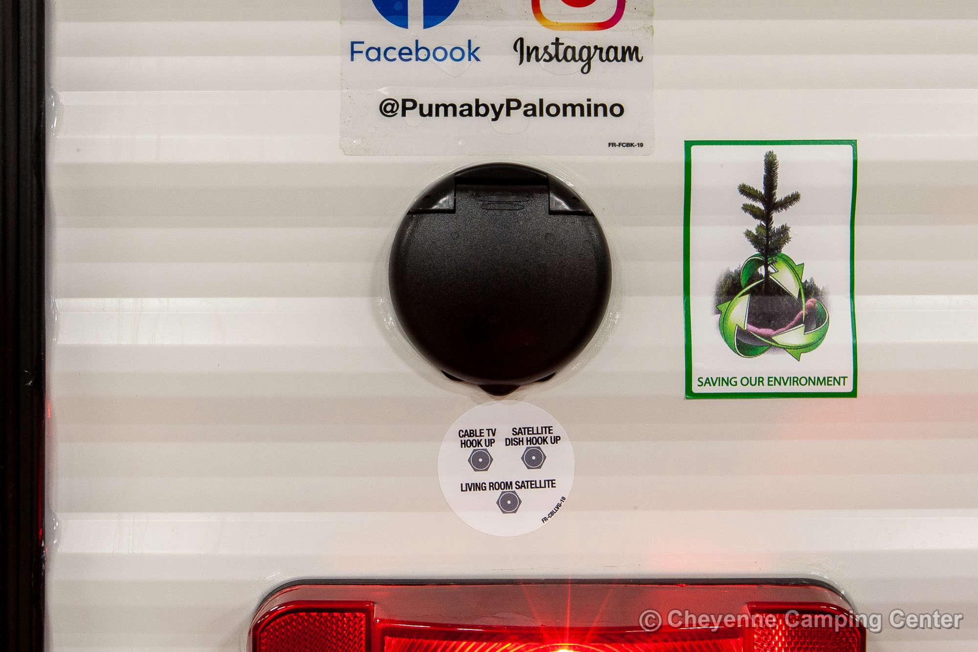 2021 Palomino Puma 31RLQS Travel Trailer Exterior Image