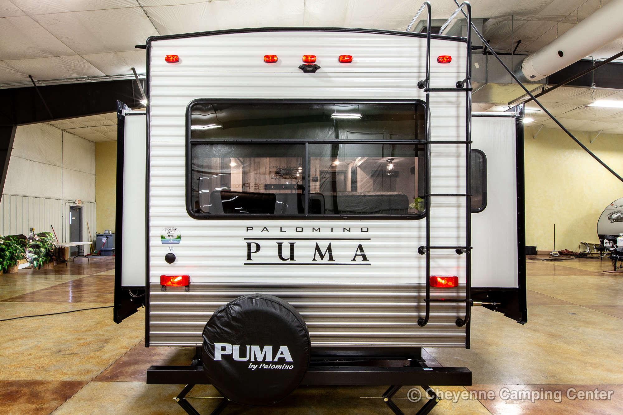2022 Palomino Puma 31RLQS Travel Trailer Exterior Image