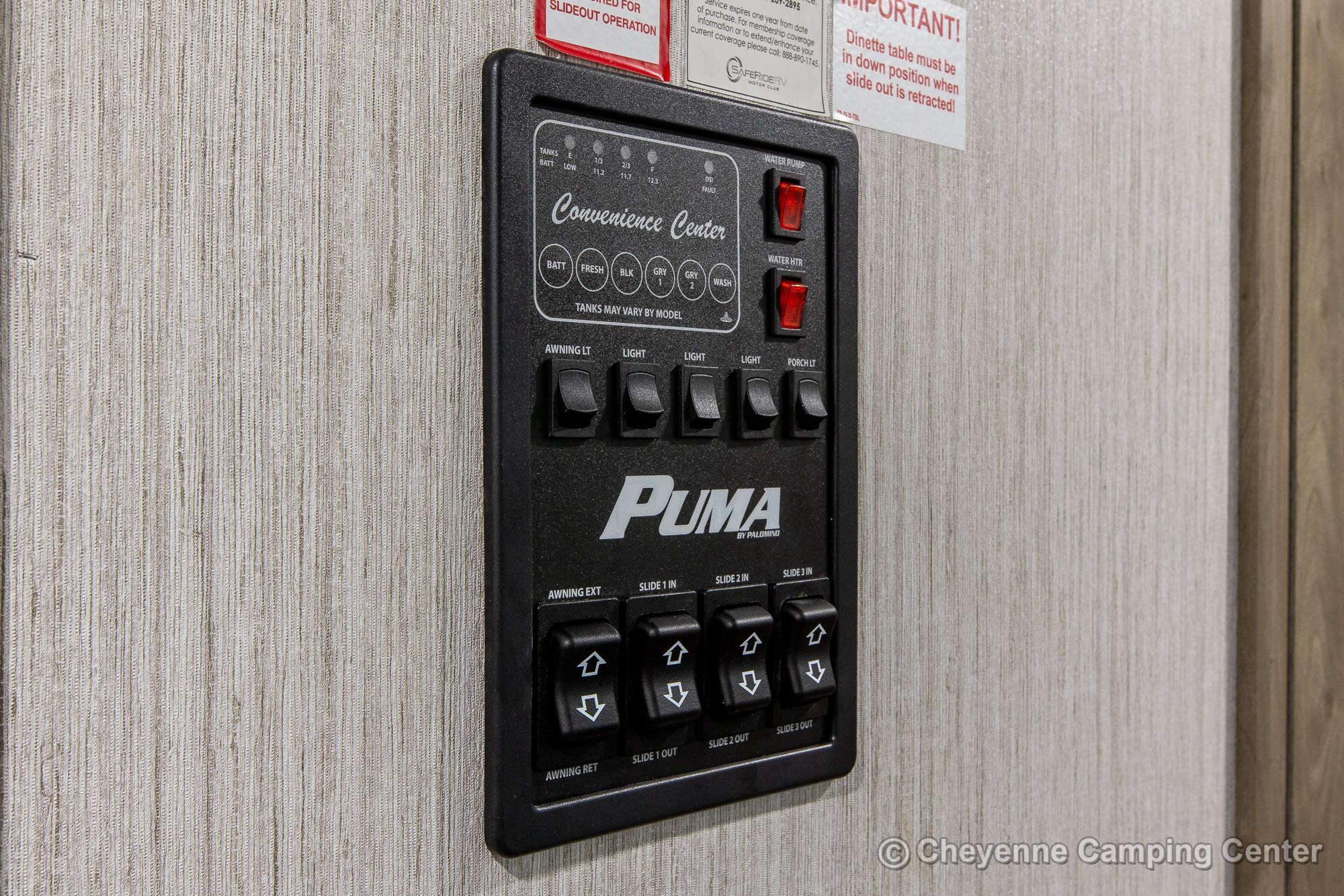 2022 Palomino Puma 31RLQS Travel Trailer Interior Image