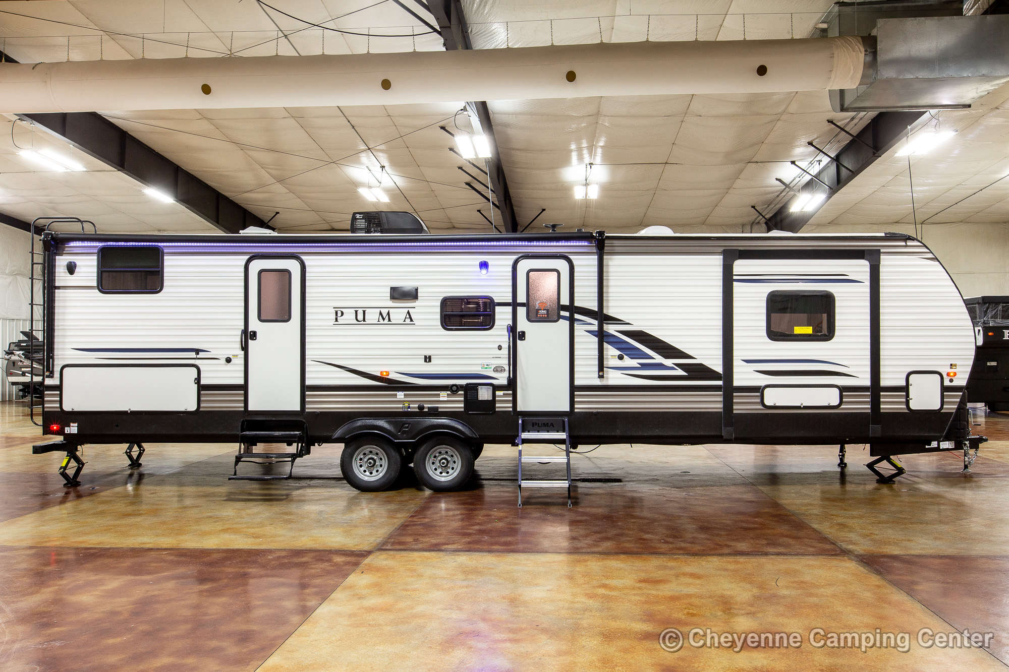 2022 Palomino Puma 32BHQS Bunkhouse Travel Trailer Exterior Image