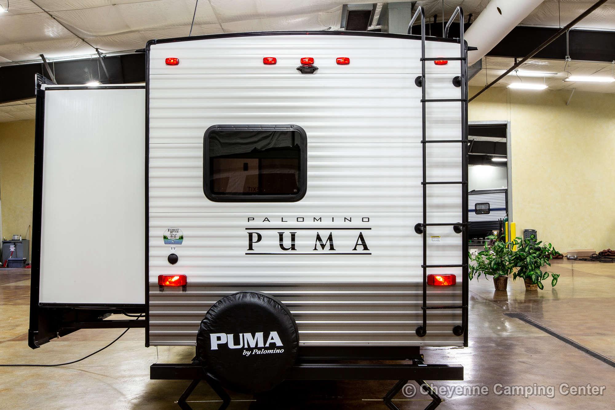 2022 Palomino Puma 32RBFQ Bunkhouse Travel Trailer Exterior Image