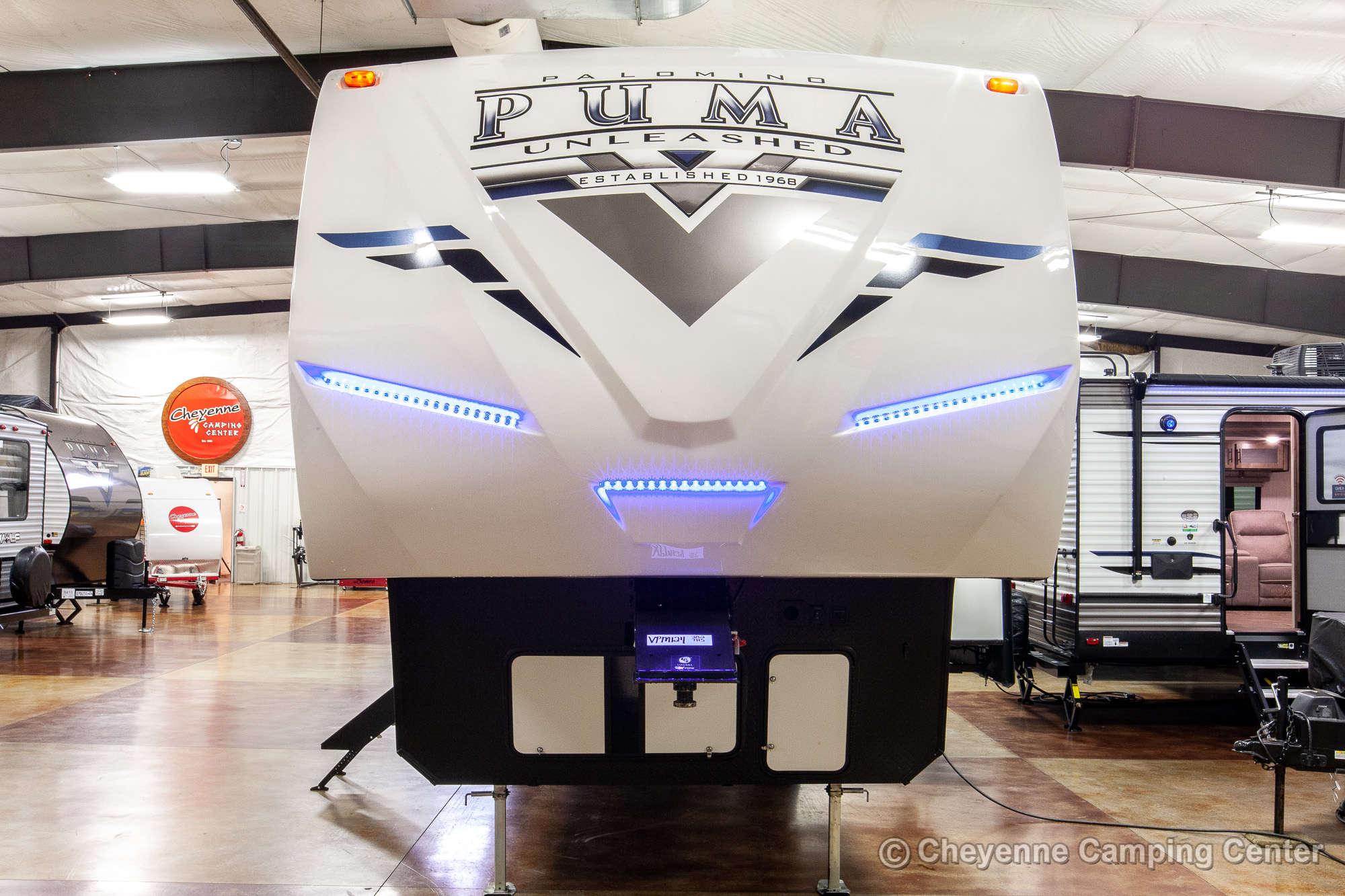 2021 Palomino Puma Unleashed 382THS Bunkhouse Toy Hauler Fifth Wheel Exterior Image