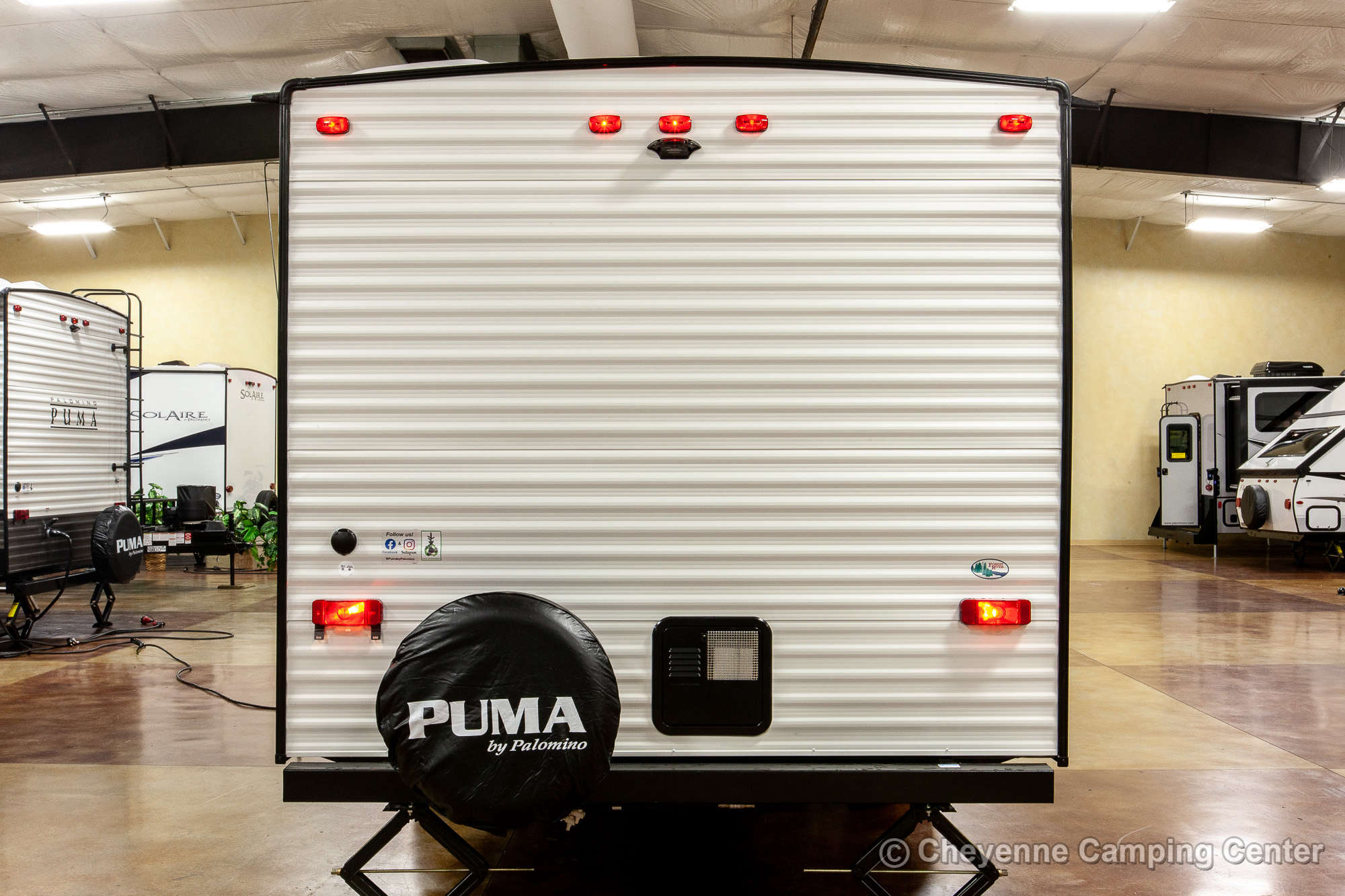 2022 Palomino Puma XLE Lite 20MBC Bunkhouse Travel Trailer Exterior Image