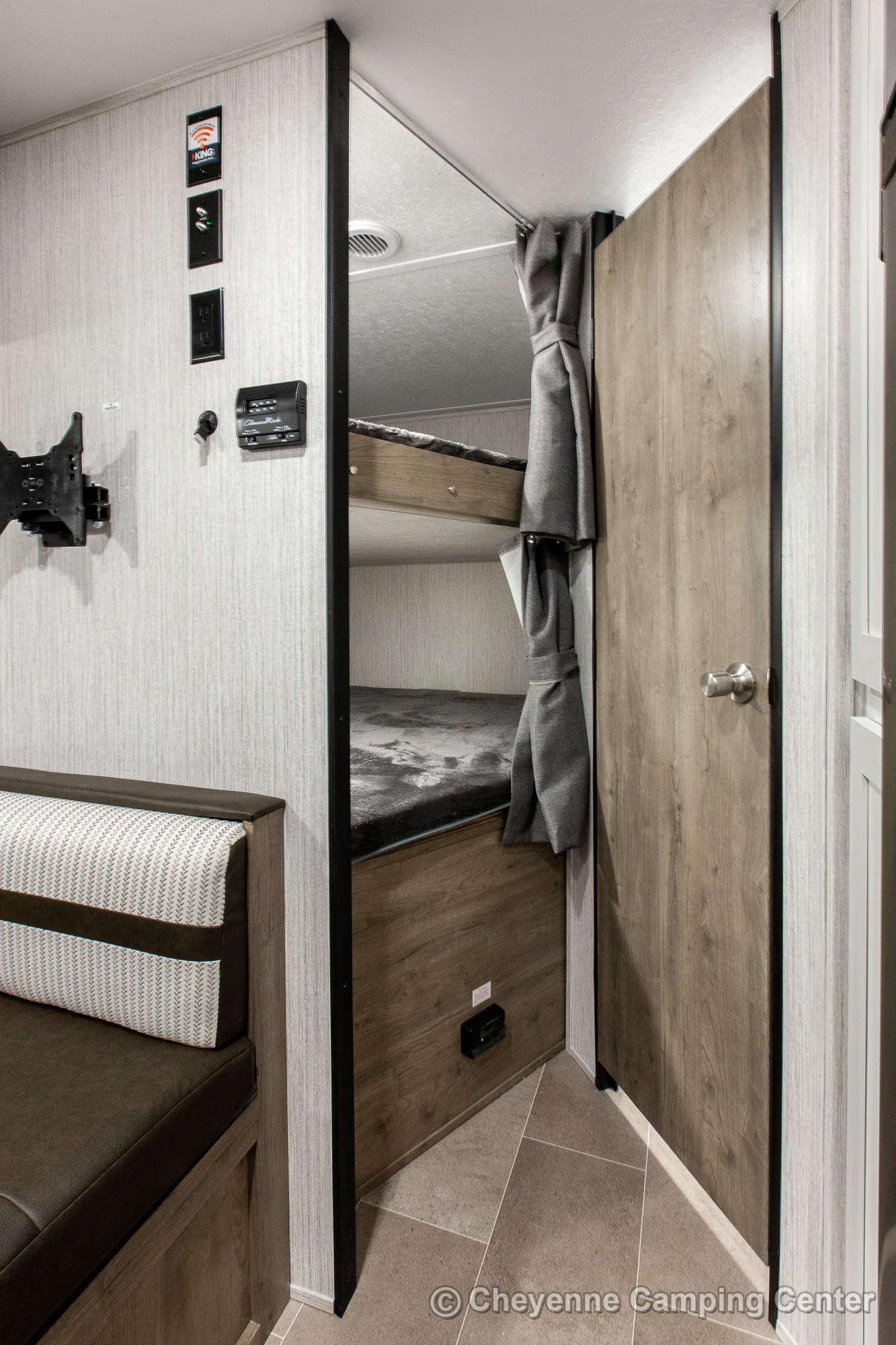 2022 Palomino Puma XLE Lite 20MBC Bunkhouse Travel Trailer Interior Image