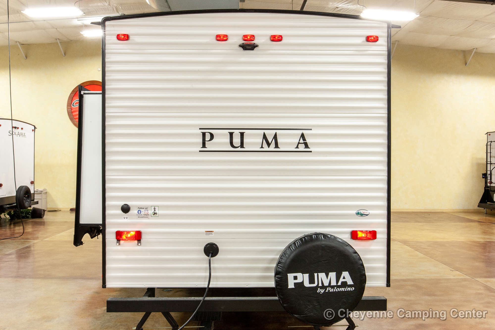 2021 Palomino Puma XLE Lite 30DBSC Bunkhouse Travel Trailer Exterior Image