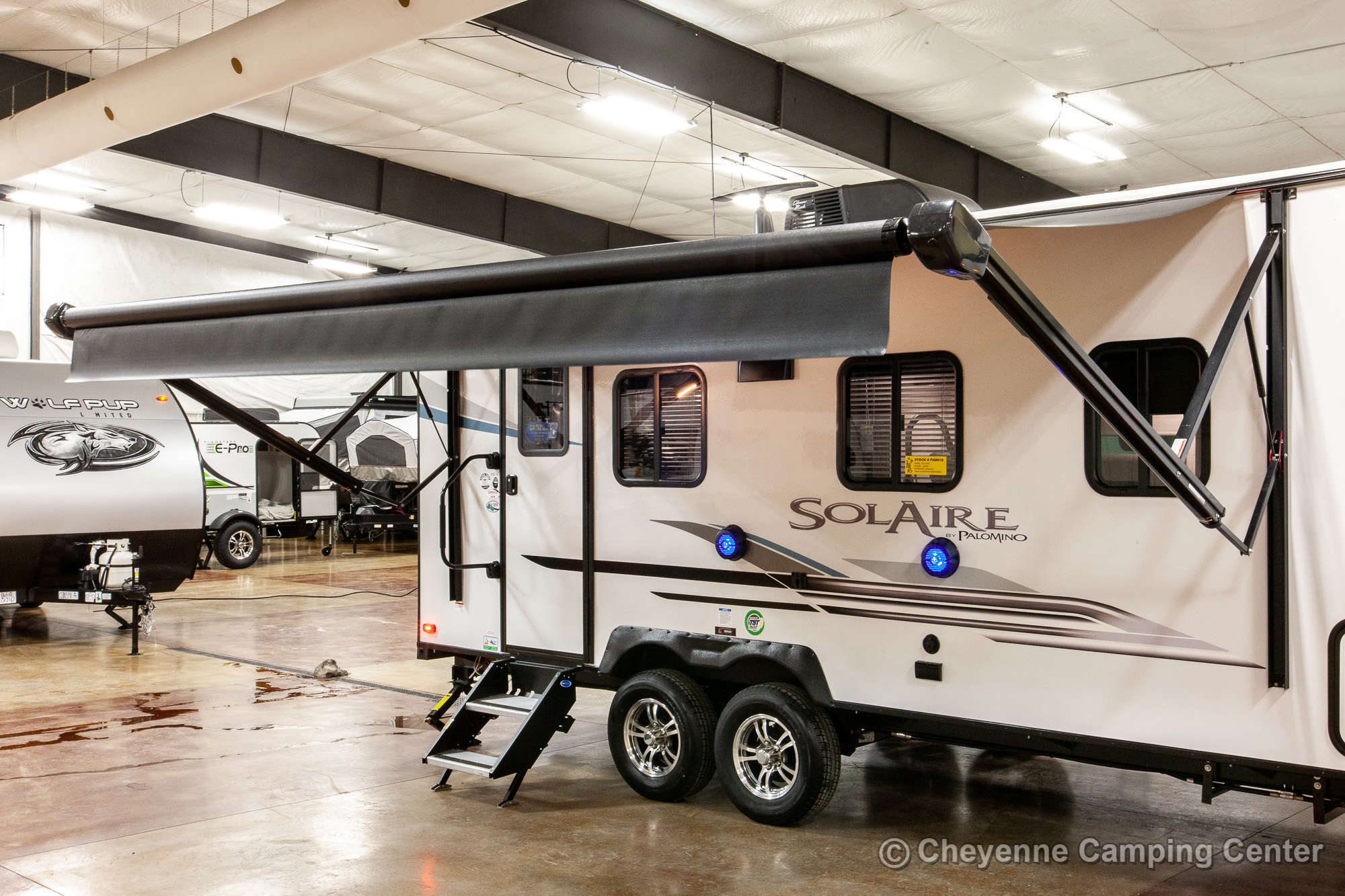 2021 Palomino SolAire Ultra Lite 205SS Travel Trailer Exterior Image