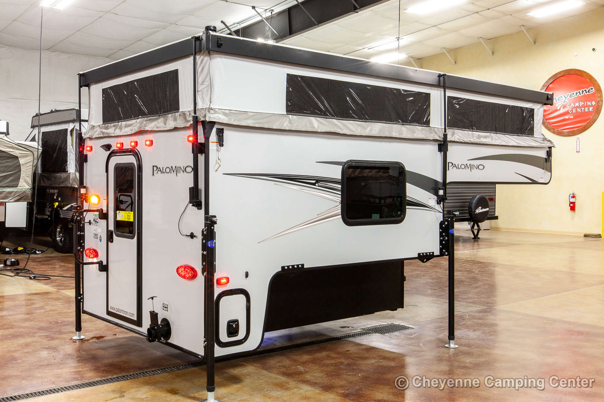 2021 Palomino BackPack SS-1240 Truck Camper Exterior Image