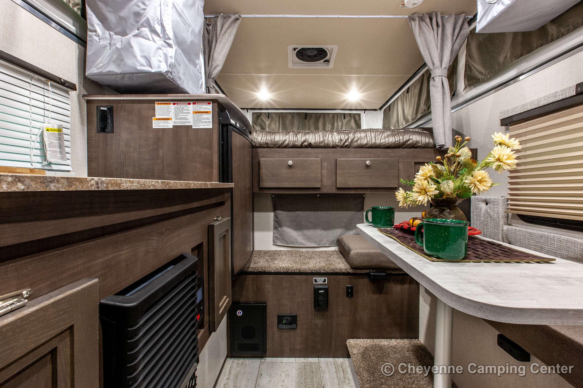 2021 Palomino BackPack SS-1240 Truck Camper Interior Image