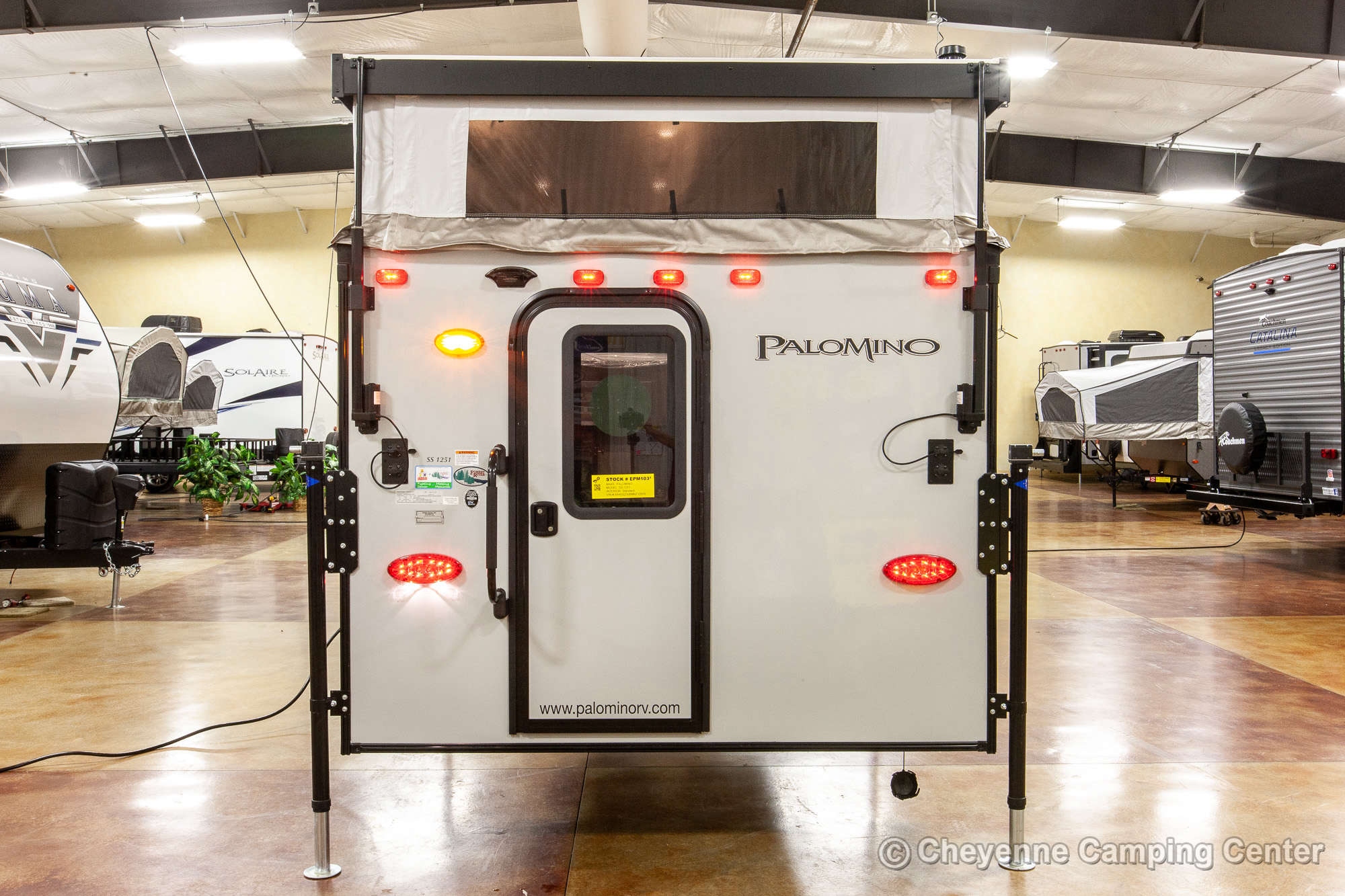 2021 Palomino BackPack SS-1251 Truck Camper Exterior Image