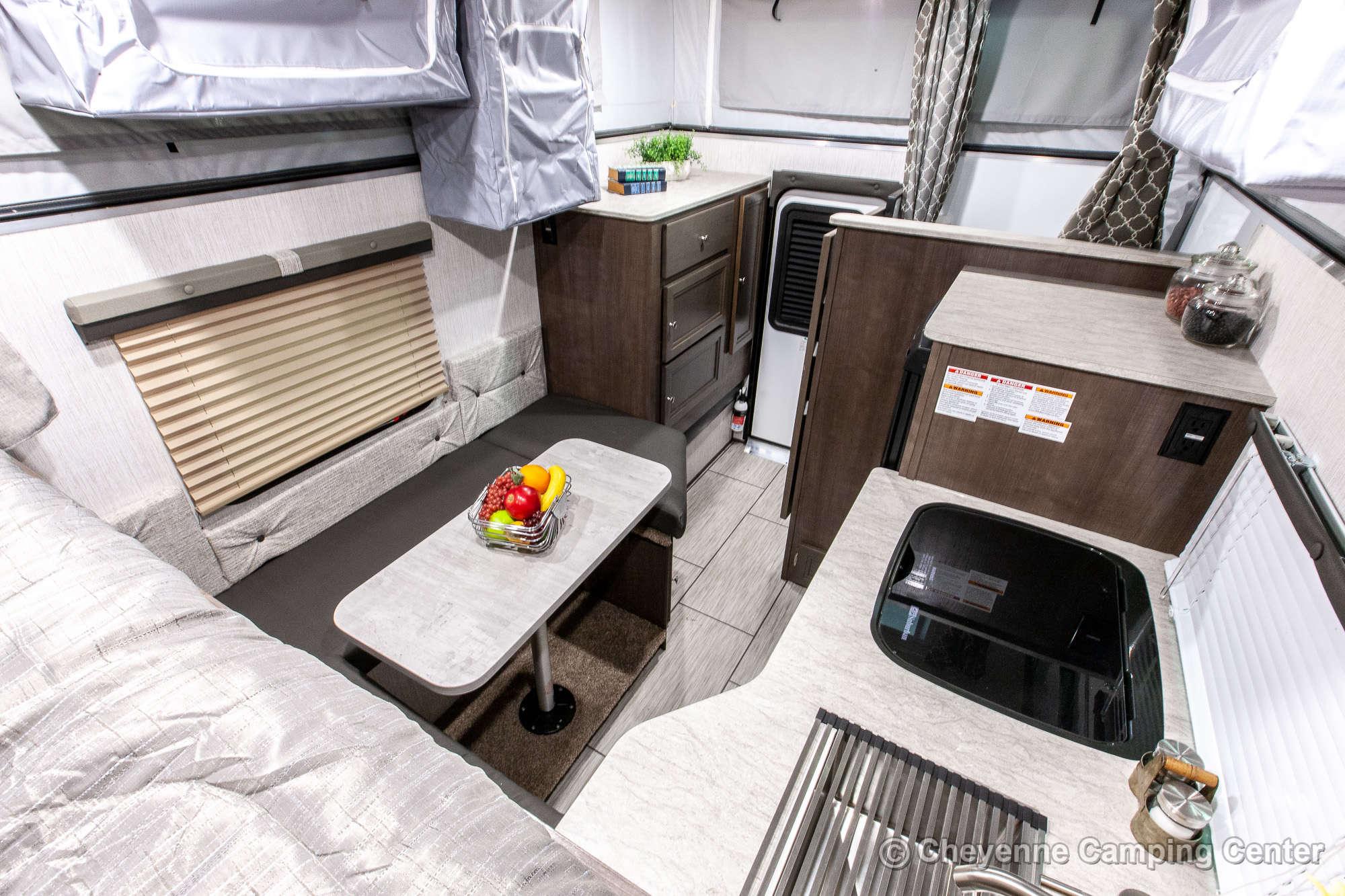 2022 Palomino BackPack SS-1500 Truck Camper Interior Image