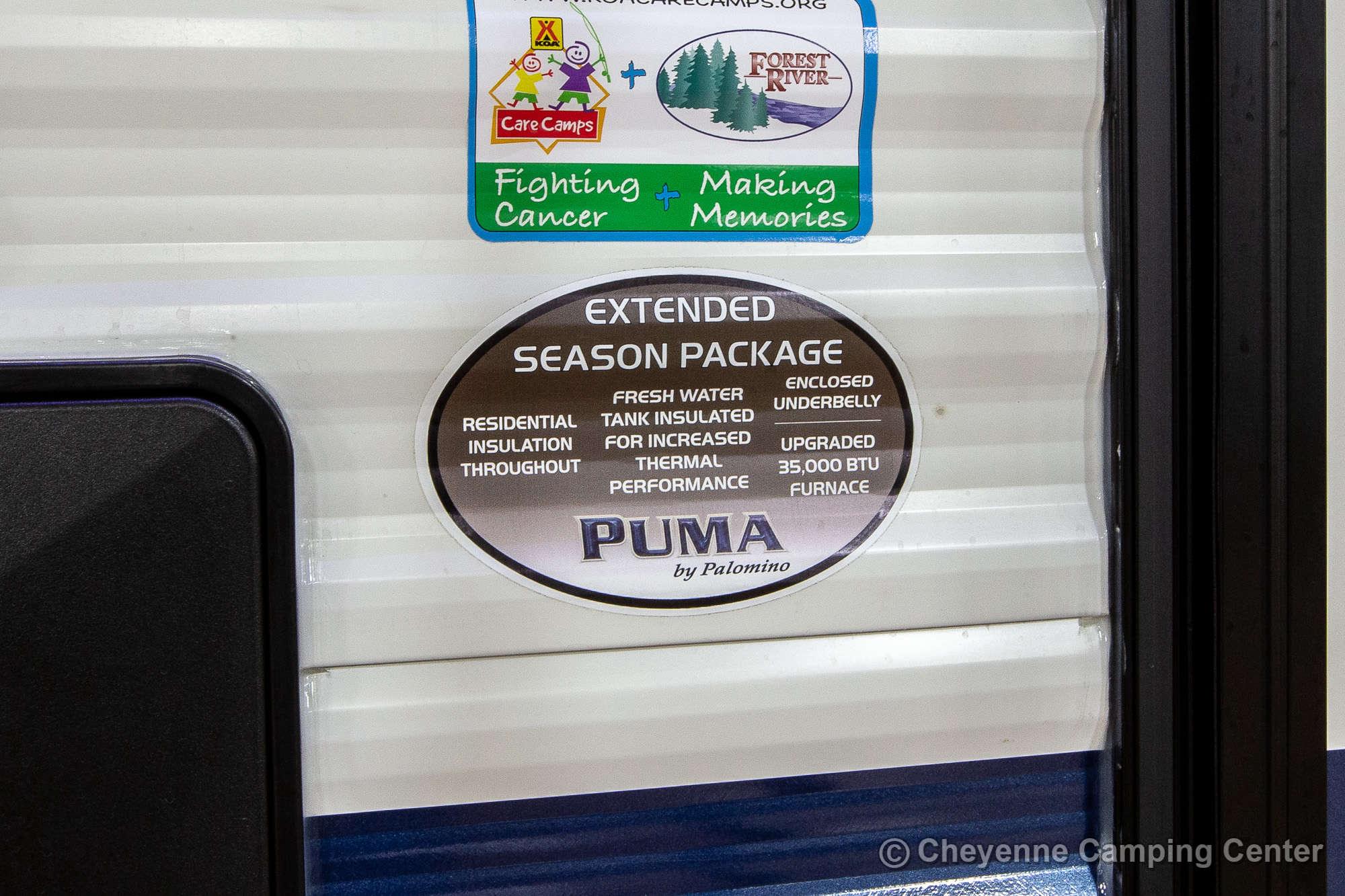 2022 Palomino Puma 26RBSS Travel Trailer Exterior Image
