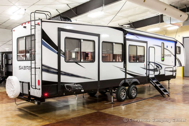 2020 Forest River Sabre 38RDP Fifth Wheel Exterior Image